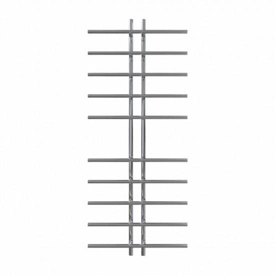 Рушникосушка водяна Gray П10 60х1450 В нижнє підключення