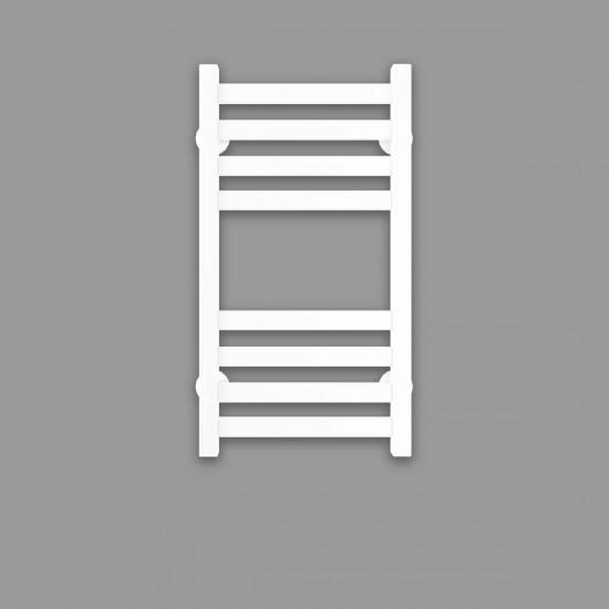 Рушникосушка водяна Magnus П8 300х600 В нижнє підключення білий