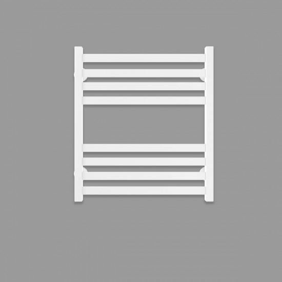 Рушникосушка водяна Magnus П8 500х600 В бокове підключення білий