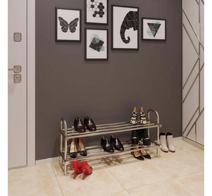 Полиця для взуття 250x650